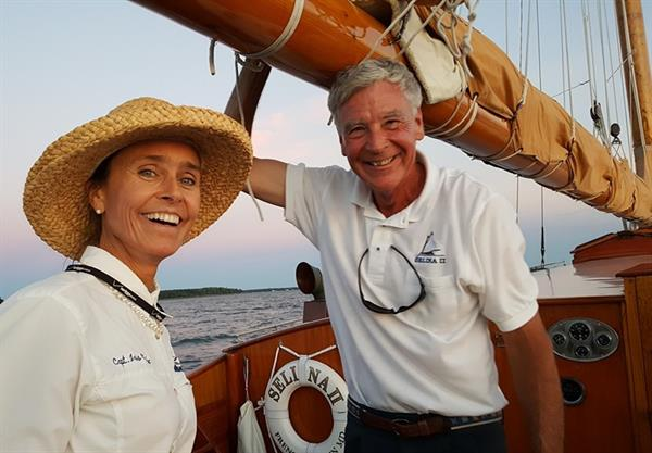 Your crew, Capt Iris & First Mate Frank