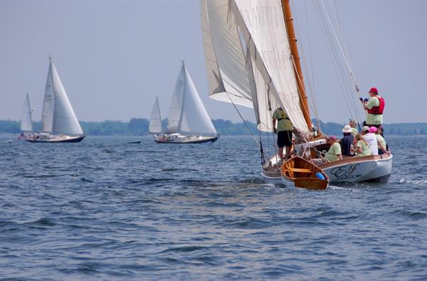 Elf Classic Yacht Race, Annapolis to St. Michaels/CBMM
