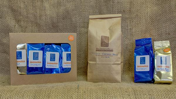 Bags are weighed out at the time of purchase - 8oz, 12oz or 16oz; or try a variety pack or a 3oz sample size.