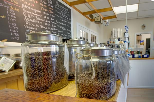We roast hand selected coffees from all around the world right in our shop.