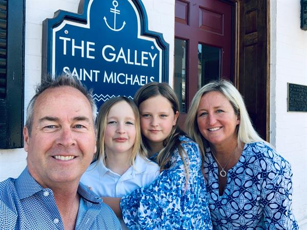 The Smith Family welcomes you to St. Michaels!