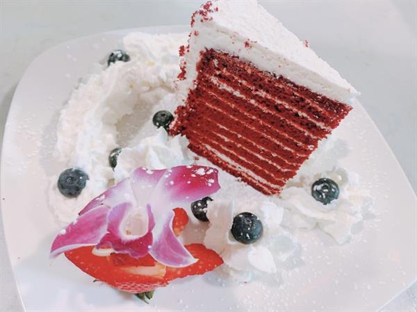 Red Velvet Smith Island Cake