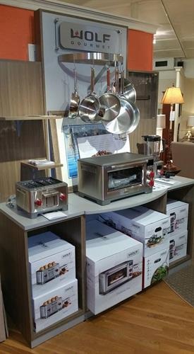 Need some new counter top appliances? Wolf gourmet makes the best around!