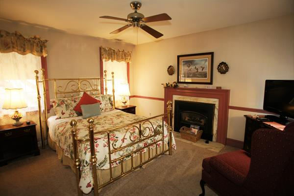 Sunny AfterNoons - lovely queen room with fireplace
