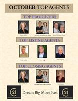 Top October Agents - CENTURY 21 Zaytoun-Raines