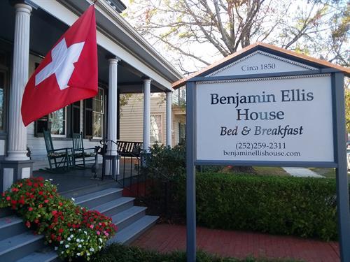Welcome to Benjamin Ellis House Bed & Breakfast