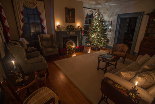 The Parlor at Christmastime