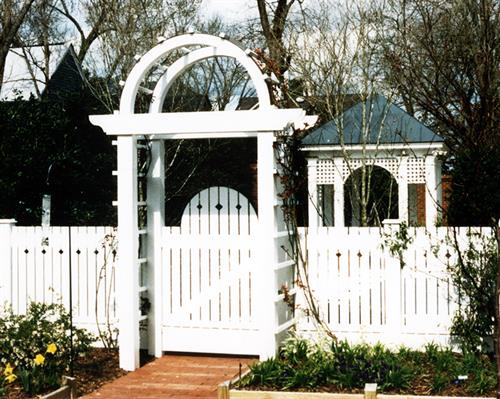 Private Residence Garden Structures, New Bern, NC