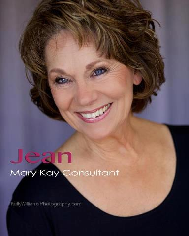 Jean Bender - 16 years with Mary Kay - Excellent Customer Service and specializes in repairing past sun damage
