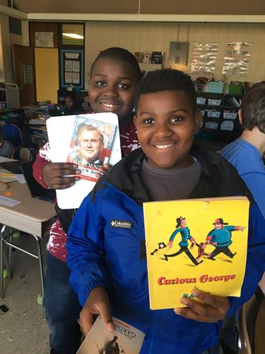 James W. Smith Elementary Young Reader