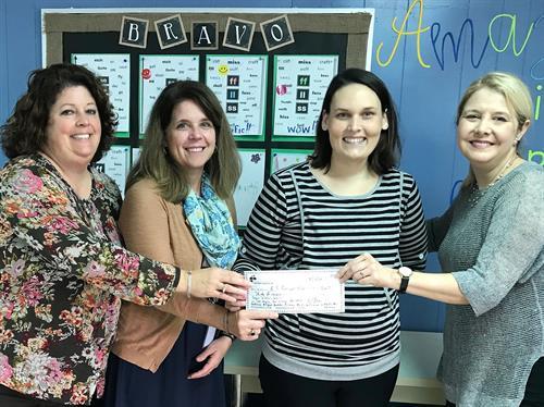 Cooper Literacy Grant Winners - A.H. Bangert Elementary