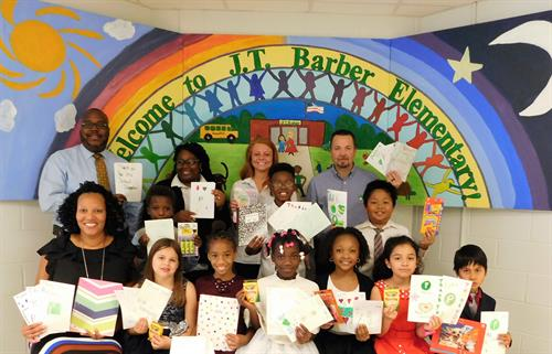 J.T. Barber Elementary Receives School Supplies from Publix