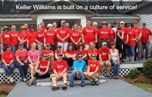 Keller Williams Realty in New Bern is built on a culture of service. Red Day is just one example of how we Give where we Live!