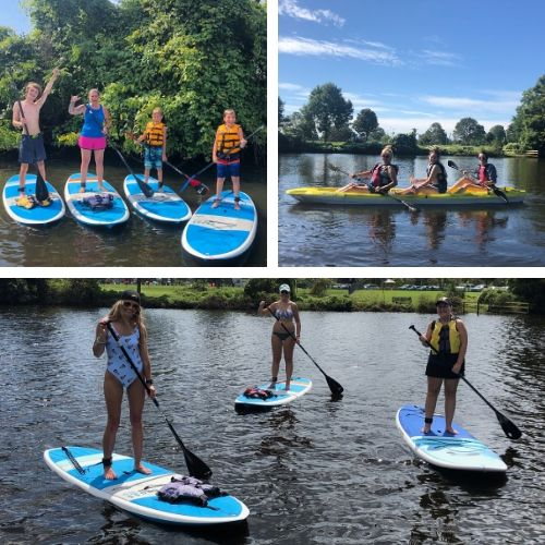SUP and Kayak with friends and family