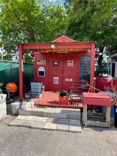 New Headquarters of Veteran's Organic Garden