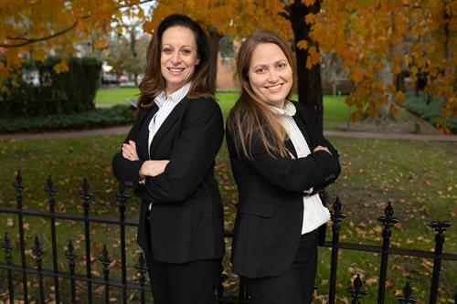 Attorneys Elizabeth A Wood and Maria Gractacos-Padro