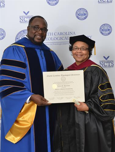 Dr. varnie N. Fullwood, Founder/President of North Carolina Theological Seminary