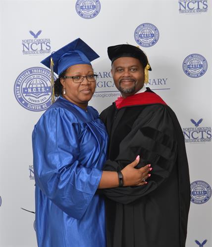 Dr. Curtis & Veronica Prichard (Doctoral Program - Bachelor Program)