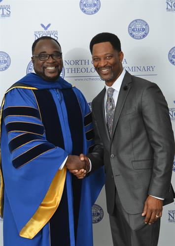 Dr. Fullwood, Founder/President of North Carolina Theological Seminary-Clinton