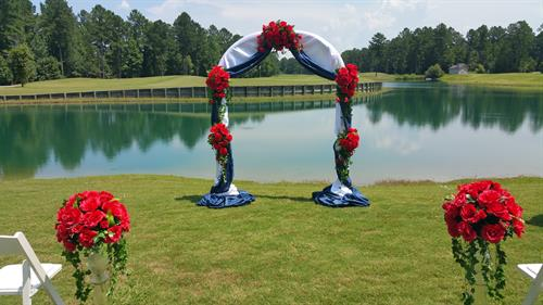 Guitierrez Wedding - Carolina Colours Pavilion - July 2016