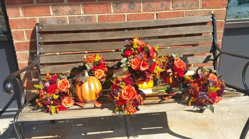 Rowan Wedding Flowers - September 2016