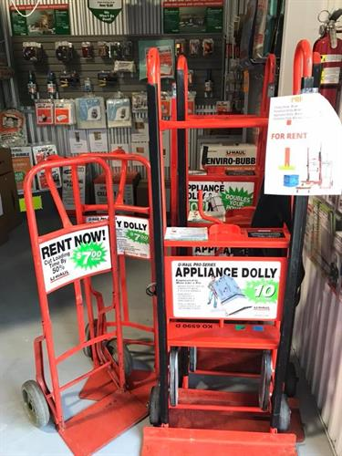 APPLIANCE, FURNITURE, AND UTILITY DOLLIES FOR RENT