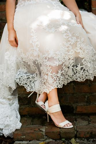 Every Detail - Designer Bridal Shoes and Lace Gowns