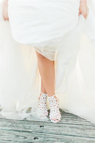 Blush has all the accessories and more for your best day ever - Betsey Johnson bridal shoes