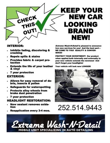 New Car Protection Program