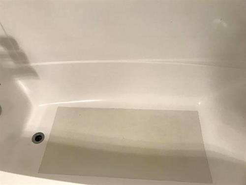 tub cleaning - after