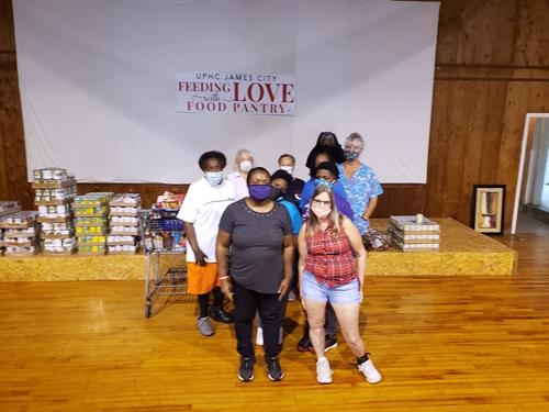 Help UPHC in James City with Feeding with LOVE Food Pantry 2nd and 3rd Thursday of Every Month