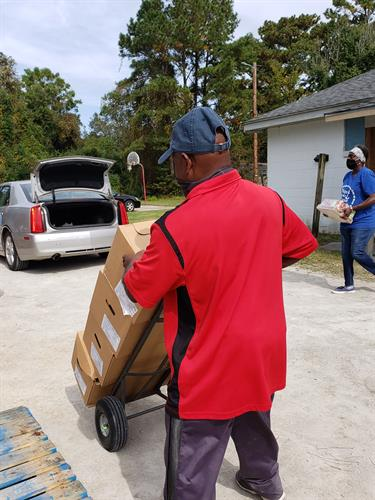 Help at Pembroke Community Center Food Distribution Day Every Wednesday
