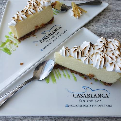 Miami, FL Casablanca restaurant Key lime pie,The Real Deal