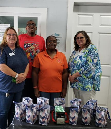 Donation to RCS of New Bern
