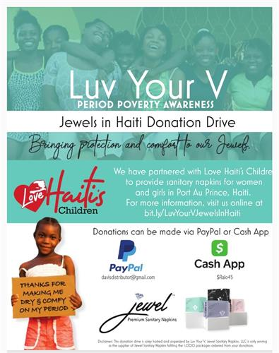 Our very first Donation Drive for end Period Poverty 2020 was A Success