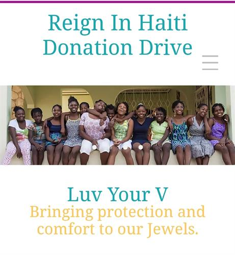 Our very first Donation Drive, Helping those in need