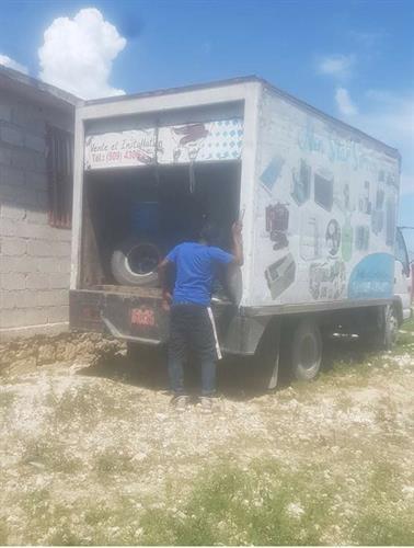 Donations arrived in Haiti for Love Haiti's Children orphanage
