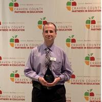 PIE recognized Thomas Wilson, Executive Director of Curriculum and Instruction