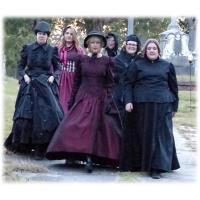 Historical Society's 29th Ghostwalk Appears October 24-26 Spirited Skirts Headline the Apparitions
