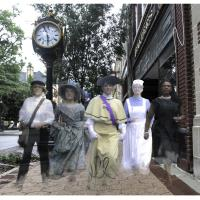 Historical Society's 29th Ghostwalk Appears October 24-26