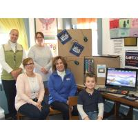 The Dime Bank Contributes $25,000.00 to the Wayne County Public Library