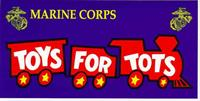 US Marine Corps Toys For Tots/ JC Paul Marine Corps League 1448