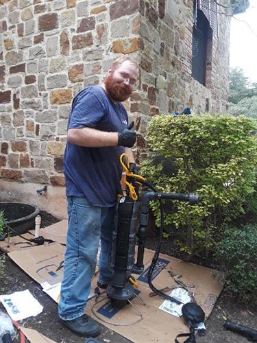 Grinder Pump Installation