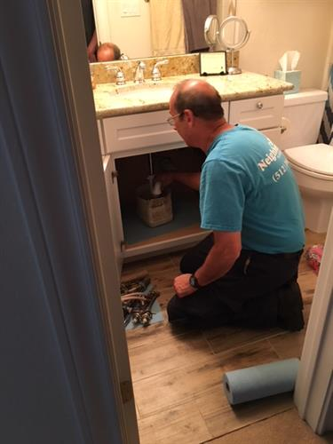 Bathroom Faucet Installation