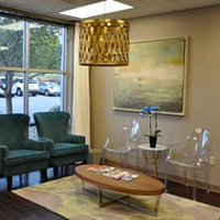 Fresh Dermatology waiting area