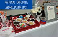 We love our employees! Had a great time celebrating National Employee Appreciation Day with The Cupcake Bar!