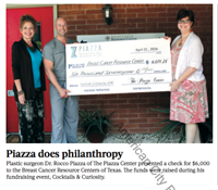 Piazza Does Philanthropy