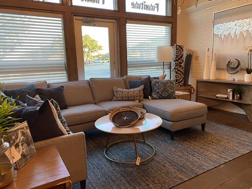 Showroom images - Rowe sectional