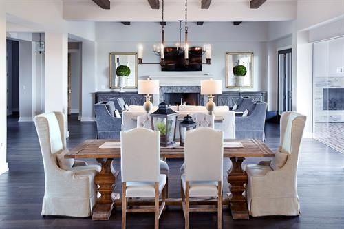 Customer's house - Dining and Living areas