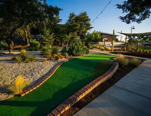 We also feature an 18-hole miniature golf course that is fun for guests of all ages.